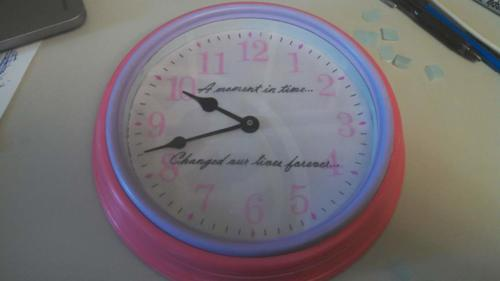 Time of birth clock